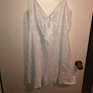 NWT ASOS DESIGN WHITE SUN MINI DRESS